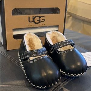 Ugg Lined Mary Jane Slippers